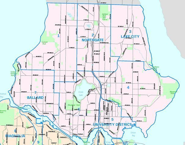 22 Simple North Seattle Map Afputra Com